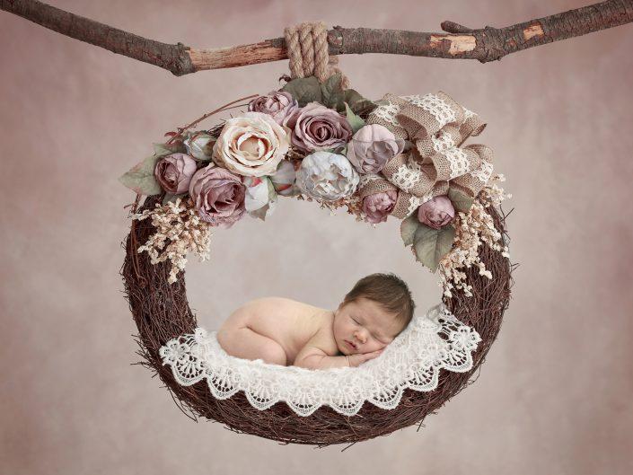 Newborn digitale achtergronden